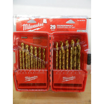 Milwaukee 48-89-0012 (29 Brocas De Titanio) Mmu
