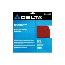 Disco De Lija Con Pegamento 9 Grano 80 Delta
