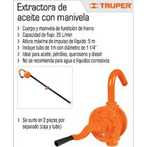 Oferta Extractora De Aceite Con Manivela Marca Truper