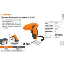 Desarmador Inalambrico 4.8 V