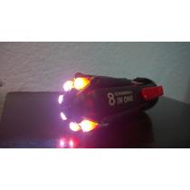 Desarmador 8 En 1 Con Luz Propia