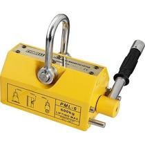 Iman Magnetico Para 1000 Kgs Placas De Acero Seguridad 3:1