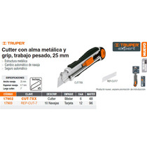 Cutter Metalico Cuchilla De 25 Mm
