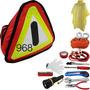 Kit De Emergencia Para Auto Cables Pasacorriente Calibrador