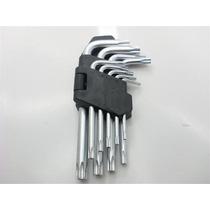Torx Juego De Llaves - Paquete De 9 L Tipo De Raso Cv Keys 9