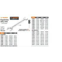 Llave Espaniola Milimetrica 8 X 9 X 135 Mm