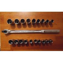 Maneral 1/2 Craftsman Y 18 Dados Entrada 1/2 Metrico Y Std