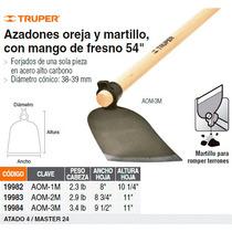 Azadon Oreja Y Martillo No. 2 Con Mango