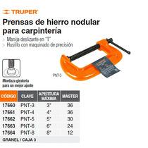 Prensa 6 De Hierro Nodular Para Carpinteria