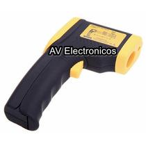 Termometro Digital Infrarrojo Puntero Laser Tipo Pistola Maa