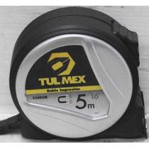 Flexometro De 5m Magnético Tulmex 93005m