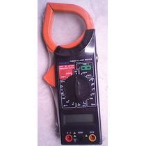 Multimetro Amperimetro Digital De Gancho Fulgore Wsl