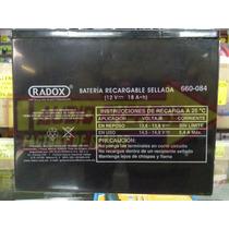 Bateria 12 Volts 18 Ampers Hora 660084