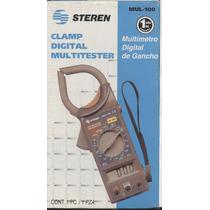 Multimetro Steren Mul-100 Nuevo Caja Y Portafolio.