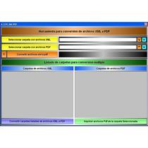 Powerxml Descarga Masiva Xml Conversion Pdf Exporta A Excel