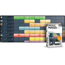 Software De Creacion Musical Music Maker 18.0, Original