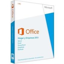 Licencia Microsoft Office 2013 Hogar Y Empresa 32 Y 64 Bits