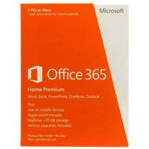 Licencia Microsoft Office 365 Home Prem 32/64 En Sub 1yr (6