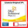 Office Professional Plus 2010 Licencia Original 5 Pc