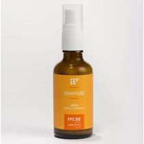 Protector Solar Fps 30 Natural Orgánico Cuidado Aloevida
