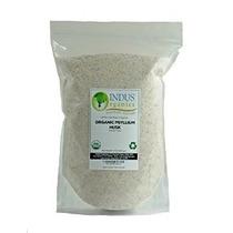 Indo Organics Psyllium Husk 16 Oz 99% Pureza Premium Grade A