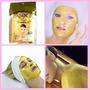 Lote 10 Mascarillas Facial De Oro 24k , 100% Organico
