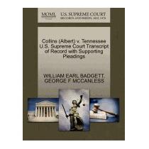 Collins (albert) V. Tennessee U.s., William Earl Badgett