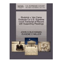 Shubrick V. Van Camp Products Co U.s., John G Buchanan