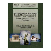 Alarid (michael) V. New Mexico Board Of Bar, Cruz Reynoso