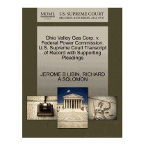 Ohio Valley Gas Corp. V. Federal Power, Jerome B Libin