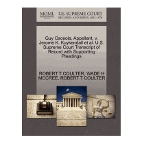 Guy Osceola, Appellant, V. Jerome K., Robert T Coulter