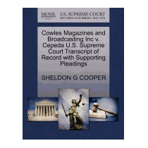 Cowles Magazines And Broadcasting Inc V., Sheldon G Cooper