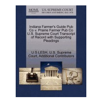 Indiana Farmers Guide Pub Co V. Prairie Farmer, U S Lesh