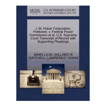 J. M. Huber Corporation, Petitioner, V. Federal, Marx Leva