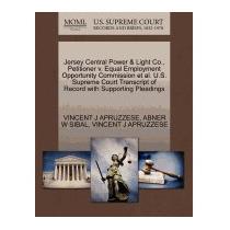 Jersey Central Power & Light Co.,, Vincent J Apruzzese