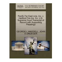 Pacific Far East Line, Inc. V. Hartford, George L Waddell