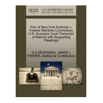 Port Of New York Authority V. Federal Maritime, S H Moerman