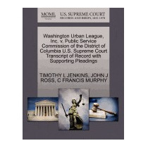 Washington Urban League, Inc. V. Public, Timothy L Jenkins