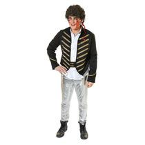 Adam Ant Traje - Pop Star Príncipe Vestido De Lujo Con Enca