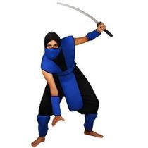 Azul Ninja Traje - Mcc Serpiente Ojos Unisex Un Tamaño Para