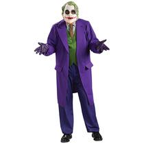 Batman Joker Traje - Adultos Deluxe El Vestido De Lujo