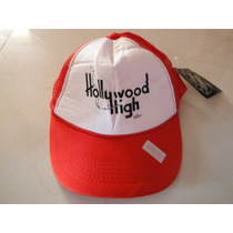 Gorra Teenage Millionaire Hollywood High Moda Faschion Roja