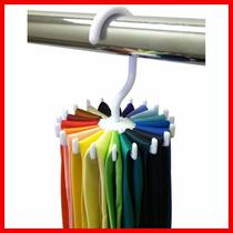 Organizador De Corbatas Giratorio 20 Corbatas Gancho Closet