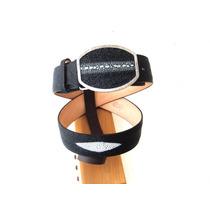 Cinturón Vaquero En Piel De Mantarraya Macho Original $1.299