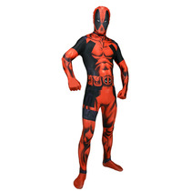 Deadpool Traje - Medio Morphsuit Adultos Marvel Comic