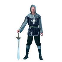 Traje De Caballero - Adultos Soldado Medieval Vestido De Luj