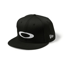 Oakley New Era Gorra Snap Back Negra Honeycomb 2.0
