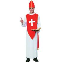 Cardenal Traje - Hombres Santo Papa Obispo Sacerdote Talla