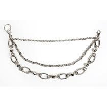 Cadena Para Pantalon Biker Chain Con Triple Cadena