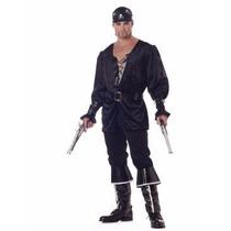 Disfraz Pirata Corazón Negro 01542